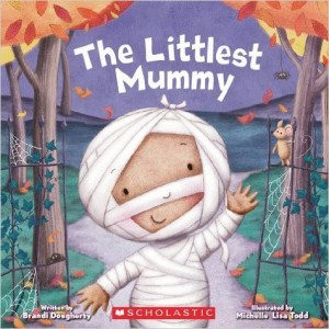The Littlest Mummy by author Brandi Dougherty