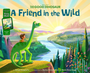 The Good Dinosaur A Friend in the Wild by author Brandi Dougherty