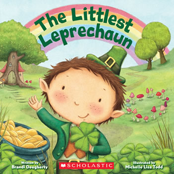 The Littlest Leprechaun by author Brandi Dougherty